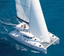 This vessel is a high end luxury, high performance sailing catamaran.