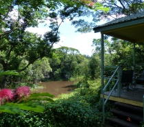 View from Cassowary Castle - Queen bungalow