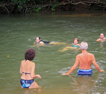Swimming at Emmagen Creek