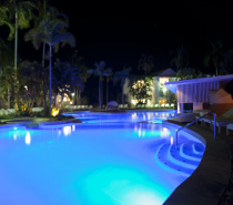 QT Pool at Night