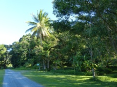Entrance to Daintree Valley Haven