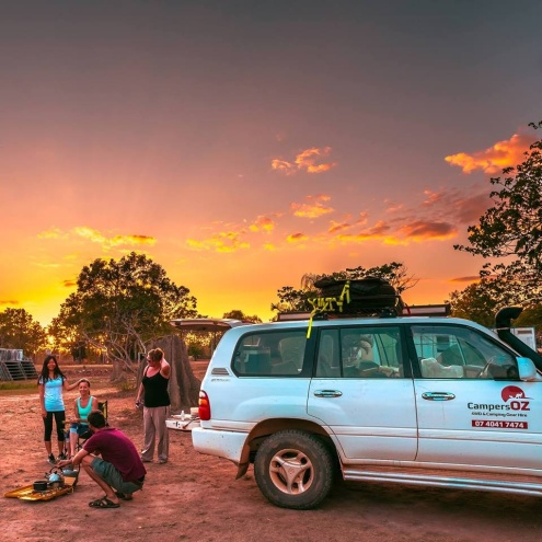 Cairns 4WD Hire, Cape York 4WD Hire and a large range of Camping Gear for Hire.