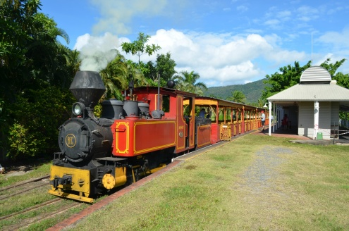 The Bally Hooley Train Port Douglas