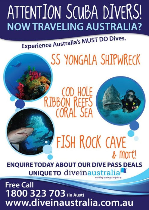 Welcome to Dive in Australia