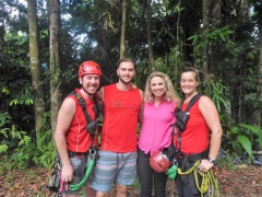 Jungle Surfing Canopy Tours as FEATURED on the TODAY Sho