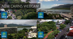 Local Tourism Network have installed a new webcam on the roof of the Pacific Hotel.