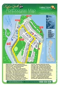 Map Of Australia Port Douglas.Maps Port Douglas Port Douglas Tourism Town Find Book