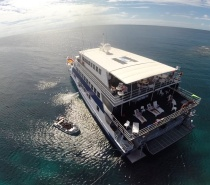 OceanQuest is a luxurious liveaboard and more of a 'floating hotel' than a boat!
