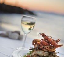 Enjoy lunch at one of the many restaurants in Port Douglas